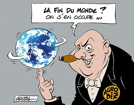 La fin du monde ? On s'en occupe...