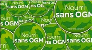 "La grande distribution boude la mention ""sans OGM"""
