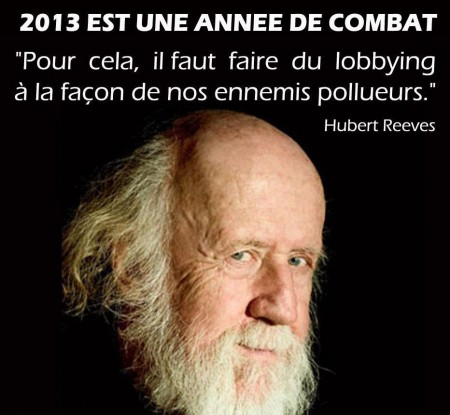 Un message d'Hubert Reeves