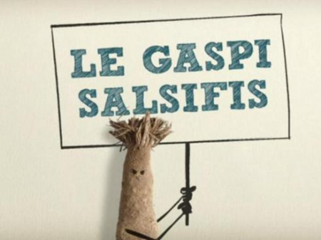 Le gaspi salsifis ! Une campagne anti-gaspillage alimentaire made in Belgique (vidéo)