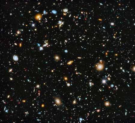 Hubble - L'image la plus colorée du l'Univers
