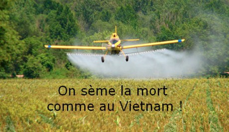 Roundup ne suffit plus, (re)voici l'agent orange