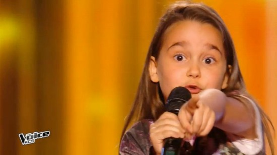 The Voice Kids 2016 | Manuella Steven Laure - Papaoutai (Stromae) | Battles et la Bohème (clips)