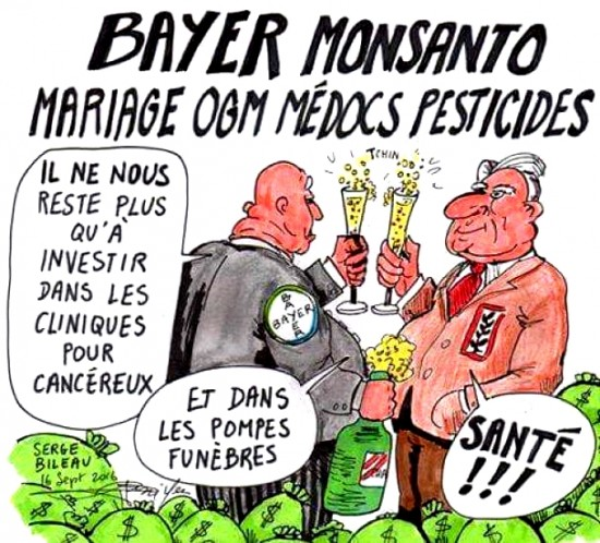 UE - Rachat de Monsanto par Bayer : accordé sous conditions - Champagne pour les multinationales !