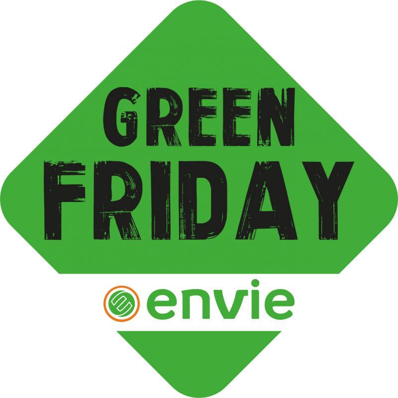 ENVIE lance le GREEN Friday, alternative au Black Friday