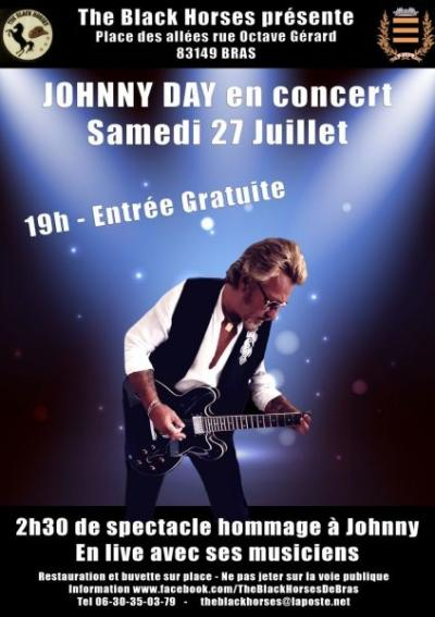 Concert en hommage à Johnny Halliday