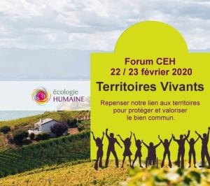 TERRITOIRES VIVANTS : Forum CEH