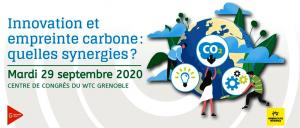 Forum 5i 2020 - Innovation et empreinte carbone : quelles synergies ?