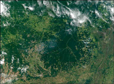 The Amazon as seen by satellite