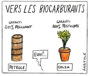 biocarburants, agro-carburants