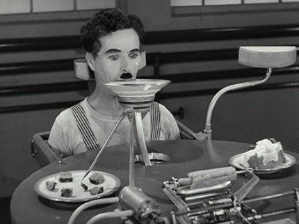 La nourriture du Big Brother (Charlie Chaplin)