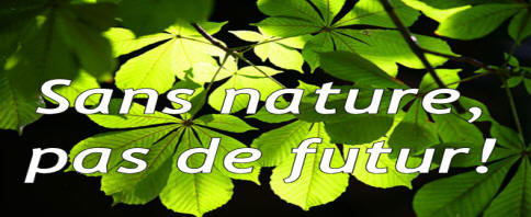 Without nature, no future!