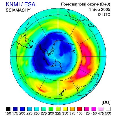 hole in the ozone layer