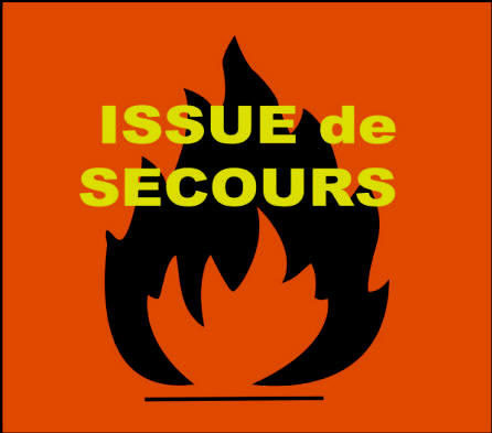 Issue de secours